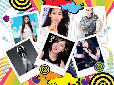 Group: janet Members: eunjung : leader , main rapper Jaekyung: lead voc & lead dancer ye-eun : 2 m