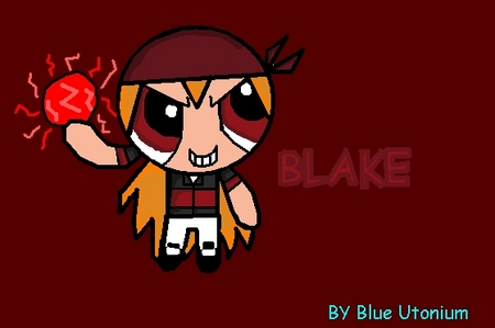 i drawed Blake (the leader of the Rowdyright boys) i drawed him because i sill even when i dumped hi