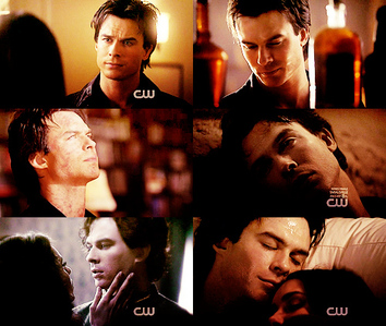 I'll start off :) siku 1 – Your inayopendelewa male character Damon Salvatore
