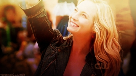 Tag 2 – Your Favorit female character Caroline Forbes