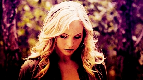 día 2 ~ Your Favourite Female Character Caroline Forbes