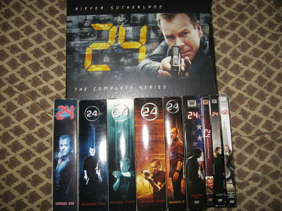 Day 9: <b>What 24 dvd&#39;s do you own?</b><br /> <br /> Every single one. Purchased the day they came ou