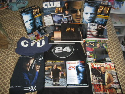 Day 10: <b>Aside from dvd&#39;s, do you own any other 24 merchandise?</b><br /> <br /> Well…<br /> <br