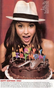 दिन 1: Your प्रिय Actress at the moment Nina Dobrev, she's awesome!!!