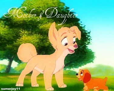 I know that angel is supposed to be a puppy, but she acts and sounds mais like an adult, in my opinio