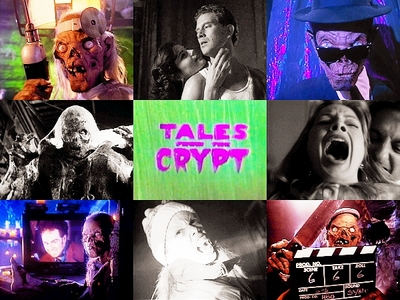 দিন 2: [b]Favorite horror themed TV show.[/b] Oh that's easy, Tales From the Crypt! I প্রণয় my horr