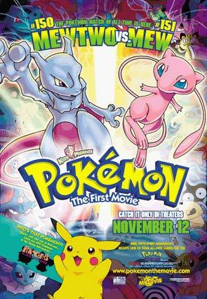 its the pokemon first movie
