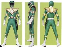 o and im not the red ranger any more im the green ranger