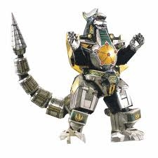 and i controled the mighty dragonzord