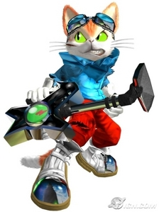 Hey, your name reminds me of Blinx. He's an antro cat with time powers. :) Blinx below (he's hawt! *f