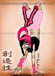Name: niaomi Middle name: nikita Last name: jones Age: 15 Looks: half part eletric rosa light pink,bl