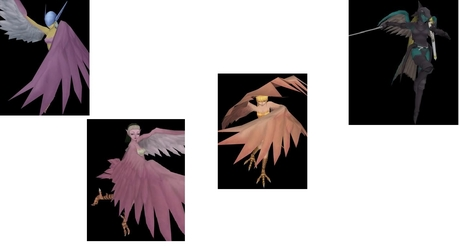 here my 1 it called Yon tsubasa purotekutā (4 wing protectors) Release Command :Watashi no subete