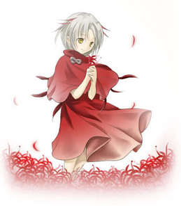 zanpakuto's name - Higanbana zoku (lycoris) release command - Egao to mezame (smile and awaken) ban