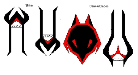 Name: Kiseichū (parasite) Shikai: Appearance: 2 arm blades with a pinsir shaped front. ability 1: