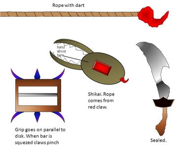 Based off a story game play with a buddy May post the story of my zanpakto zanpakuto's name/Rīgarus