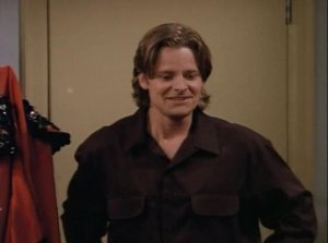 Next: Chandler's strange smile from TOWT engagement picture.
