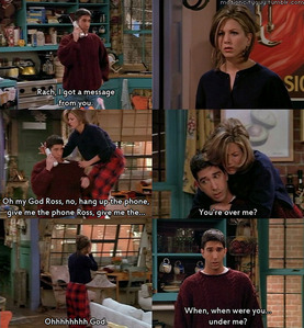 one of my FAVORITE SCENES OF FRIENDS HISTROY XD 
