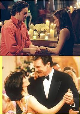 hope it's OK 'cause I didn't find they on the same picture.   next: TOW Barry and Mindy's Wedding