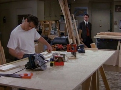Here u go: Joey making the entertainment center :)