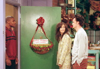 Joey: (Watching the discussion between Monica and a neighbor) Hey Chandler, do we know that lady?