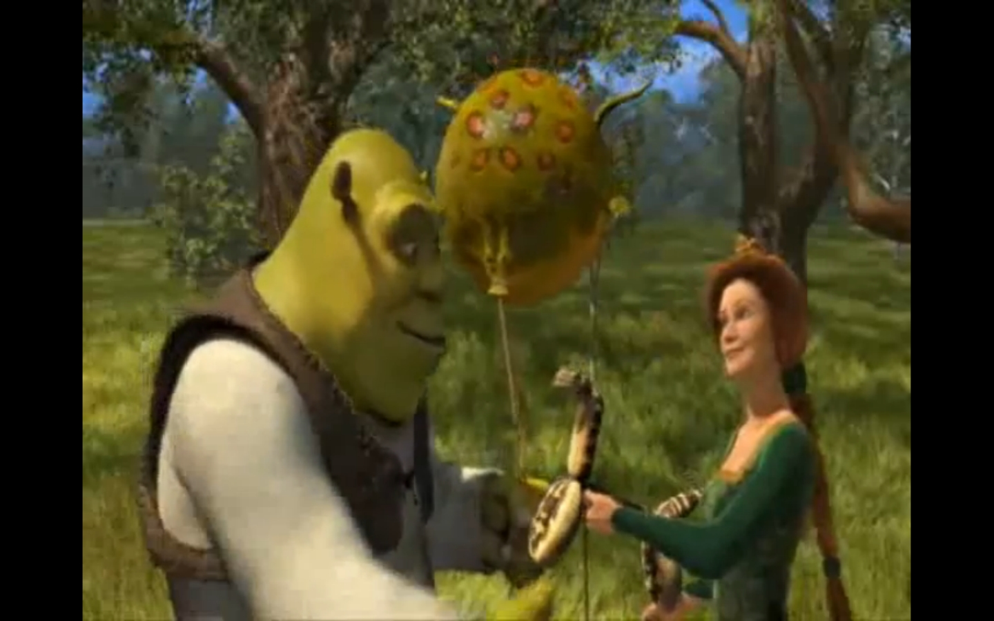 Shrek & fiona carton caertaure sexy videos