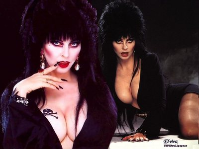 For a woman it would be Elvira!