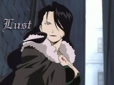 L- Lust(Fullmetal Alchemist)