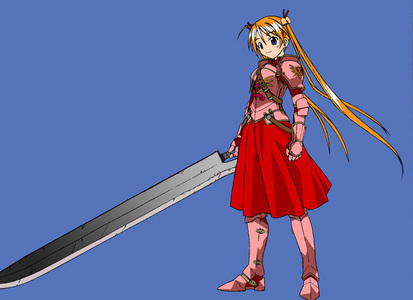B- Baka Red (Magic Teacher Negima!)