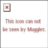 O RLY? Sorry if you're a muggle and can't see this.