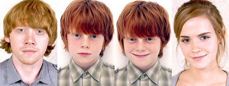 Hugo Weasley everyone!He's cute! But he's hair is too red. Sorry David yates, I hope Ты colored them