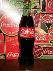 Coca Cola tastes so much better when it comes in a glass bottle.
