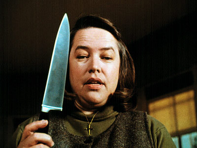 Annie Wilkes, from Misery. She remindes me of twitards. Anyone who has seen that movie will understan