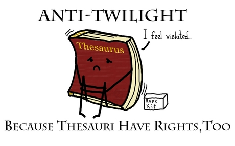 Poor thesaurus.