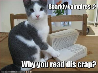 Even pets hate Twilight.