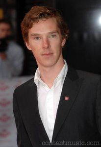 Accio - He is naturally ginger though dies it for certain roles! His name is benedict cumberbatch :D