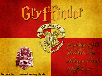 MissKnowItAll - Gryffindors FTW! Yes, I'm one too. :D