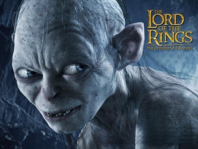 Hehe! Gollum and the Orcs scare me. The main reason Iam not as connected to Dobby as everyone else is