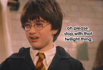 harry hates twilight
