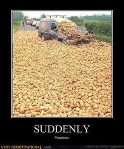 New page partaaaaaaay! With potatoes.