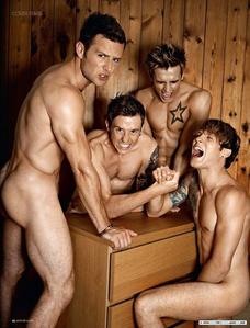 McFly <3 Mostly for their looks rather than their music xD