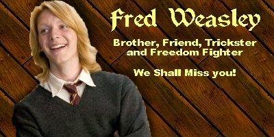 Fred Weasley <3