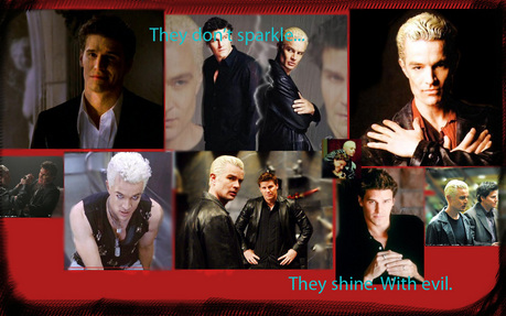 :O OMG KILL YOURSELF KATE! JK, JK. Spike is another vampire from Buffy who I love. XD Not just becau