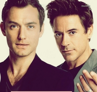 Ты lot? British slang FTW! :D Oh, and here's Jude Law. He was in Sherlock Holmes (he played Watson