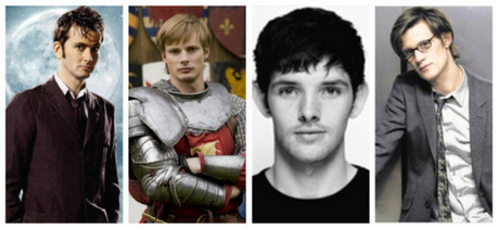 He looks like Arthur from Merlin! :D 1-David Tennant (The 10th Doctor) 2-Bradley James (Arthur) 3-Co