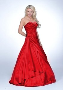 I just got my prom dress :D Cause I got a short one at first, then I decided I didn't like it. Now I'