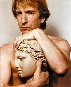 aww we all amor you best today is alan rickmans 65th birthday so in honour im adding rickman picture