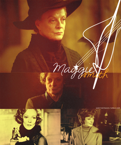 dame maggie smith of course