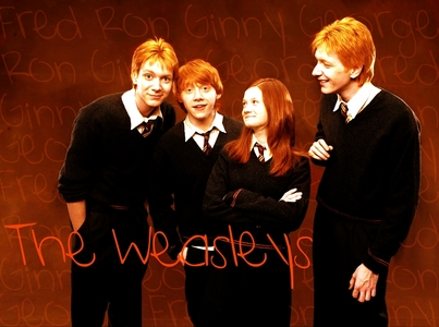 Mine is a Weasley theme. Made it myself- I had to brighten it, and make their hair еще ginger. Then