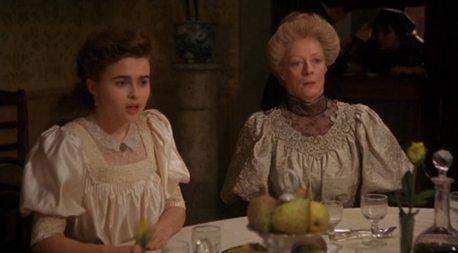 저기요 best a very young helena bonham carter with dame maggie