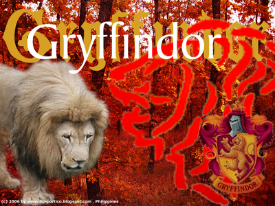 "Today was ""wear green"" দিন at my school. So what do I do? I wear red. GRYFFINDOR PRIDE FTW!"
